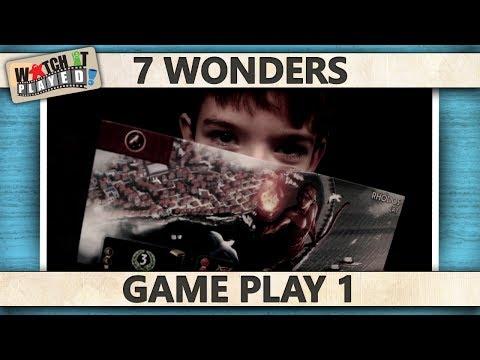 7 Wonders - Game Play 1