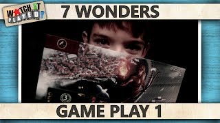 7 Wonders - Game Play 1