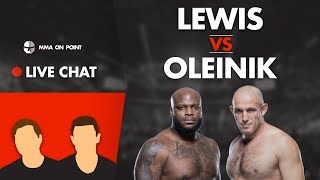 MMA On Point Live Chat: Lewis vs Oleinik Preview, No more Conor fights in 2020?