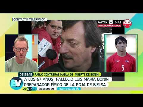Pablo Contreras se refirió a muerte de Bonini | Bienvenidos