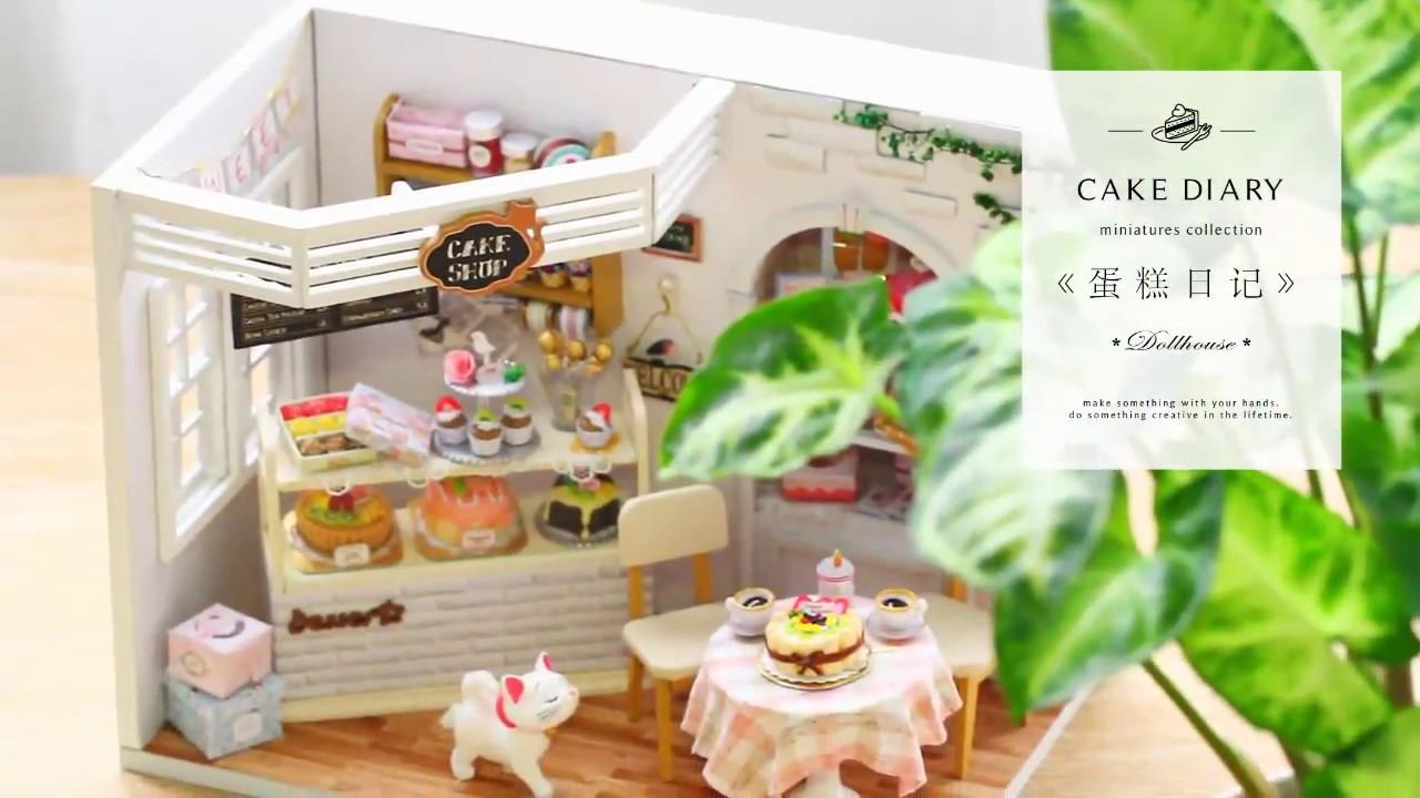 Diy Dollhouse Cake Diary Youtube