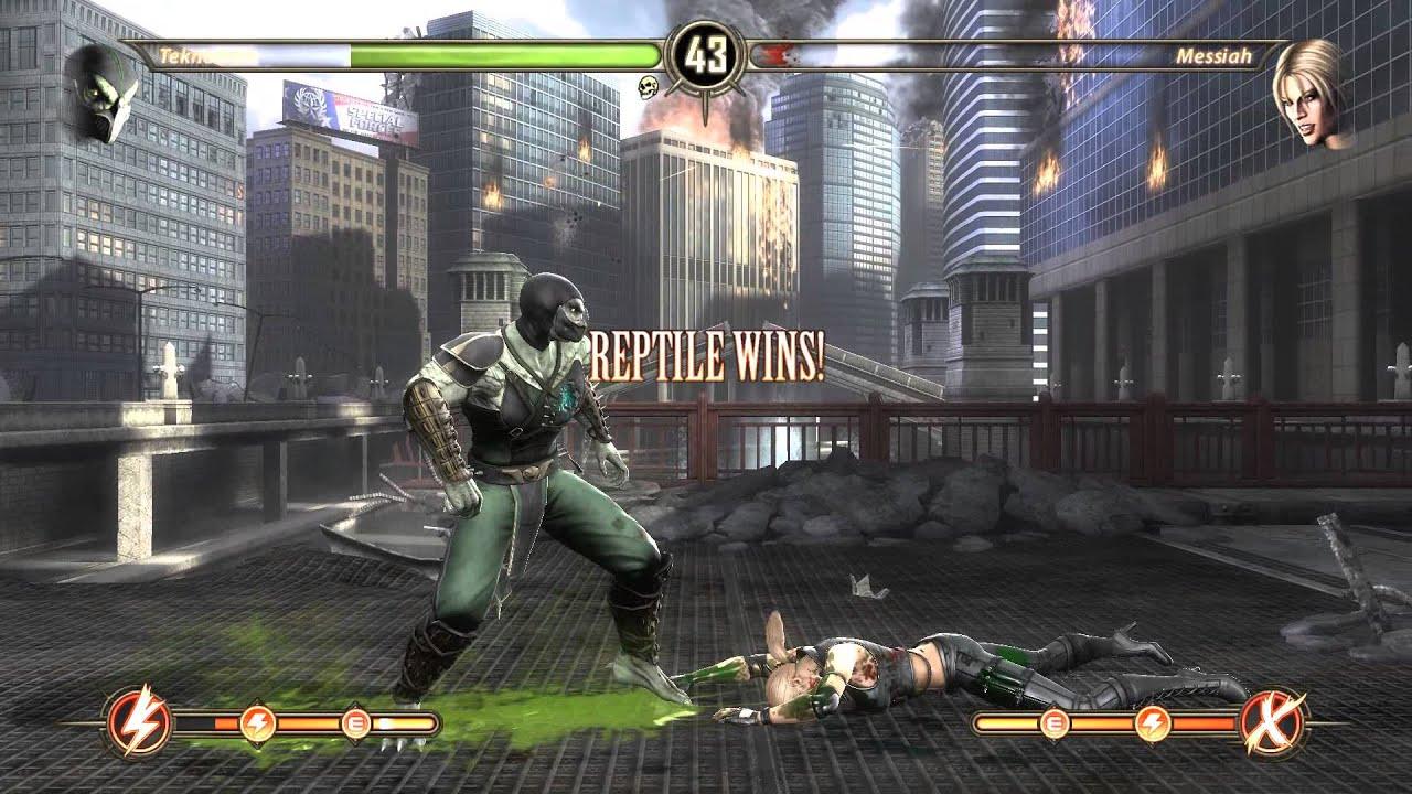 Mortal Kombat Komplete Edition Rain VS Sheeva 60 FPS!!!(PC) - YouTube