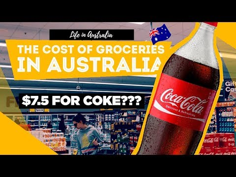 The Cost of Groceries in Sydney (Woolworths)