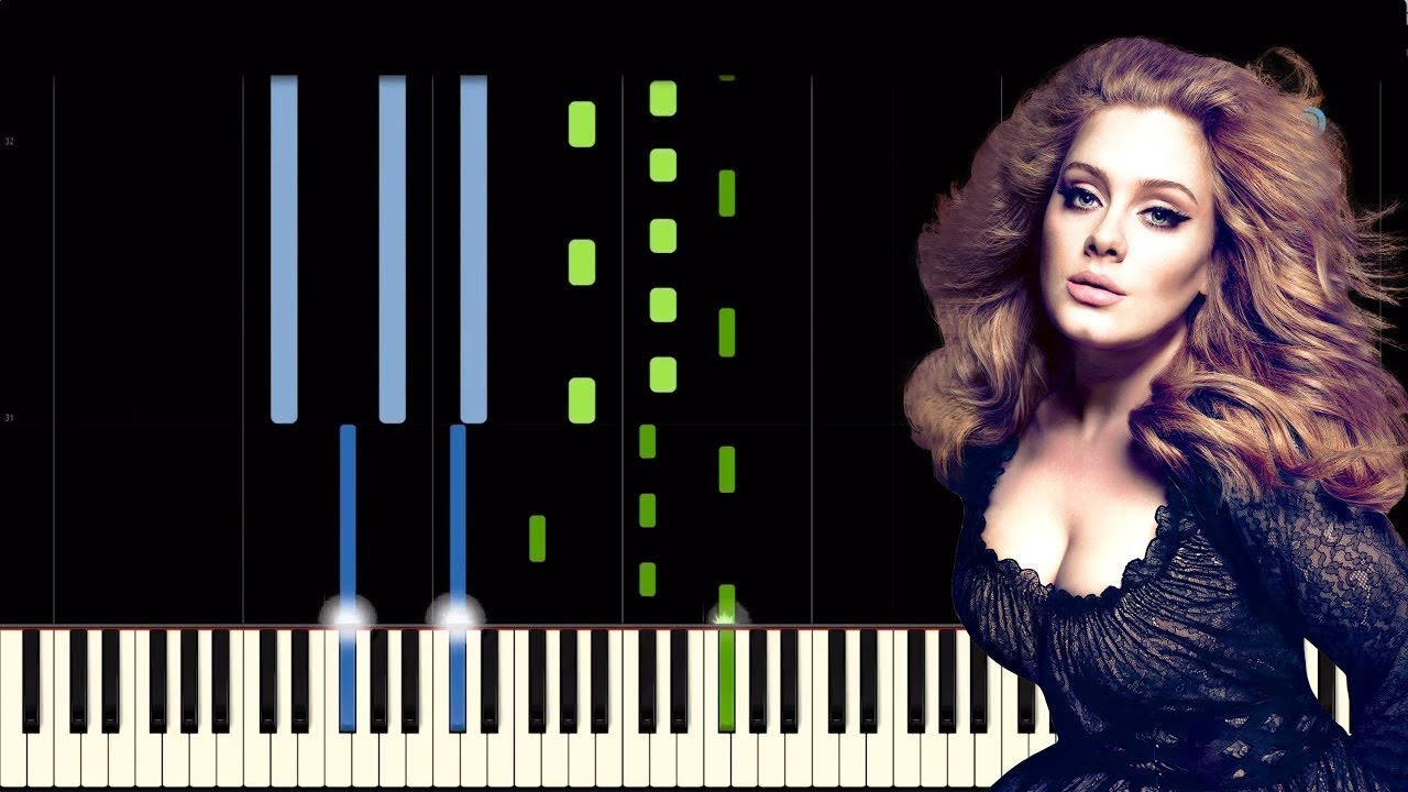 Adele someone like you piano tutorial youtube adele someone like you piano tutorial baditri Image collections