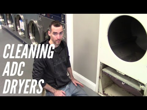 How To Clean Lint Out of ADC Dryers