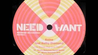 Love Saves The Day - Kaine Feat Kathy Diamond (Mario Basanov Vocal Remake)