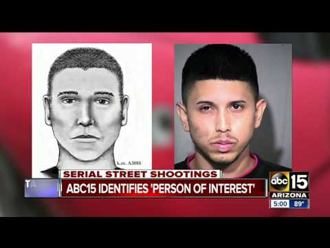 ABC15 confirms ID of person of interest in Phoenix serial street shootings