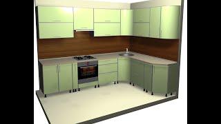 Базис мебельщик быстрое проектирование кухни