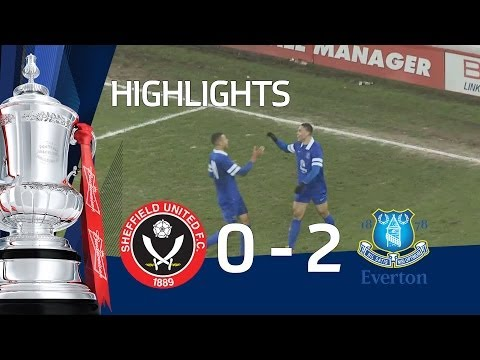 Sheffield United vs Everton 0-2, goals from Duffus and Jones -  FAYC 5 goals and highlights