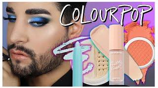 Full Face Of ColourPop ! #Makeup