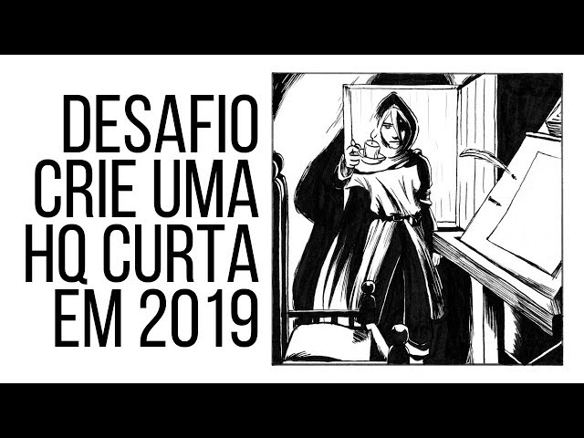 Desafio crie uma história em quadrinhos curta em 2019