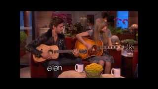 Taylor Swift and Zac Efron sing a duet, with Lyrics.