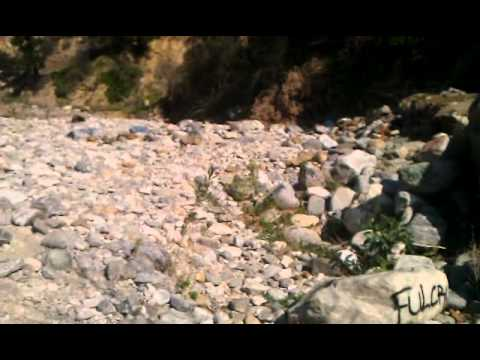 Sapphire Falls Trail, Graffiti, Rancho Cucamonga