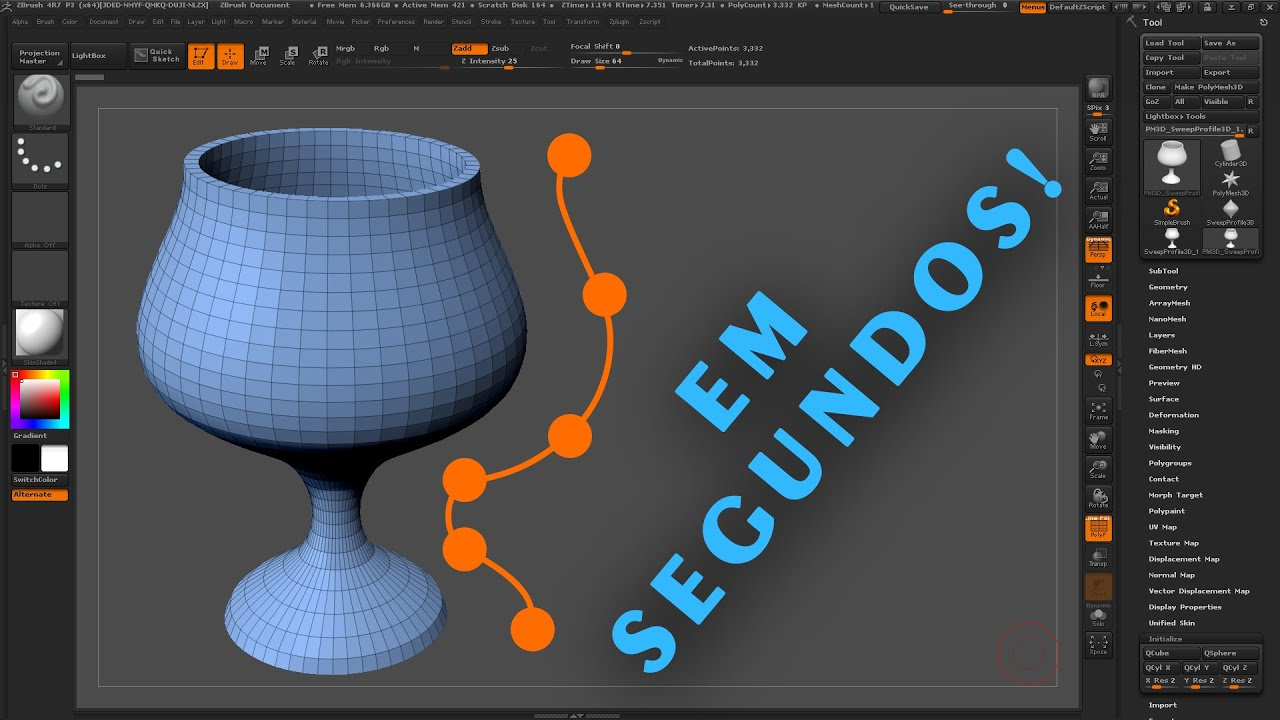 Zaulas 04 como modelar objetos 3d cil ndricos em for Modelar habitacion 3d max