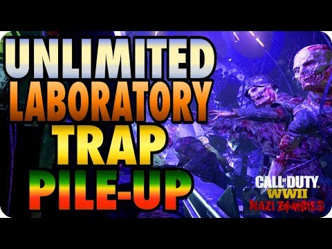 WWII Zombie Glitches: Unlimited Laboratory Trap/Pile-Up Glitch - The Final Reich |