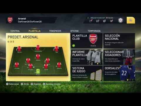 "Fifa 15 Modo Carrera ARSENAL ""VAYA FICHAJES"" (Ep.1) | PS4"