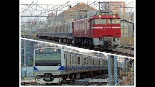 【JR東日本】E531系 常磐線&水戸線〝カツK459編成 秋田総合車両センターへ配給輸送〟