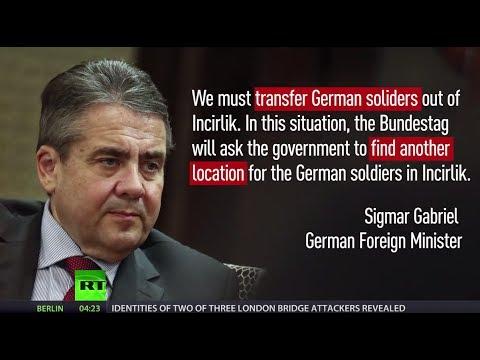 Off base: German troops 'ready for transfer' from Turkey's Incirlik airbase