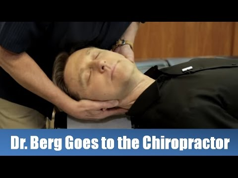 Dr. Berg Gets a Chiropractic Adjustment