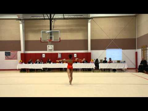 Kathleen Du Rhythmic Gymnastics Clubs (Level 6)