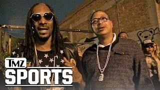 Snoop Dogg- Charles Barkley Should Eat Alligator Souffle...To Celebrate Lakers 1st Win! | TMZ Sports