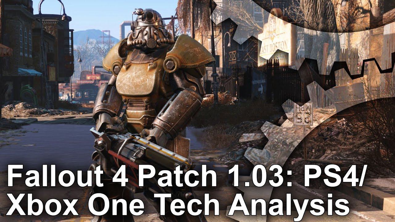 Fallout 4 Patch 1 3 Improves PS4/Xbox One Graphics Detail