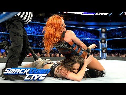 Becky Lynch & Naomi vs. Liv Morgan & Sarah Logan: SmackDown LIVE, March 20, 2018