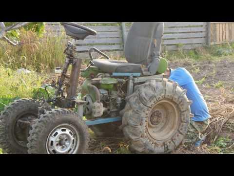 Тракторок из мотоблока МТЗ-05