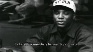 N.W.A. - Alwayz Into Somethin' Subtitulado español Video Oficial (HD Audio)
