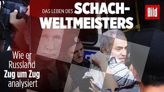 Schach-Weltmeister Kasparow: Wie er Russland Zug um Zug analysiert | Reportage-Trailer