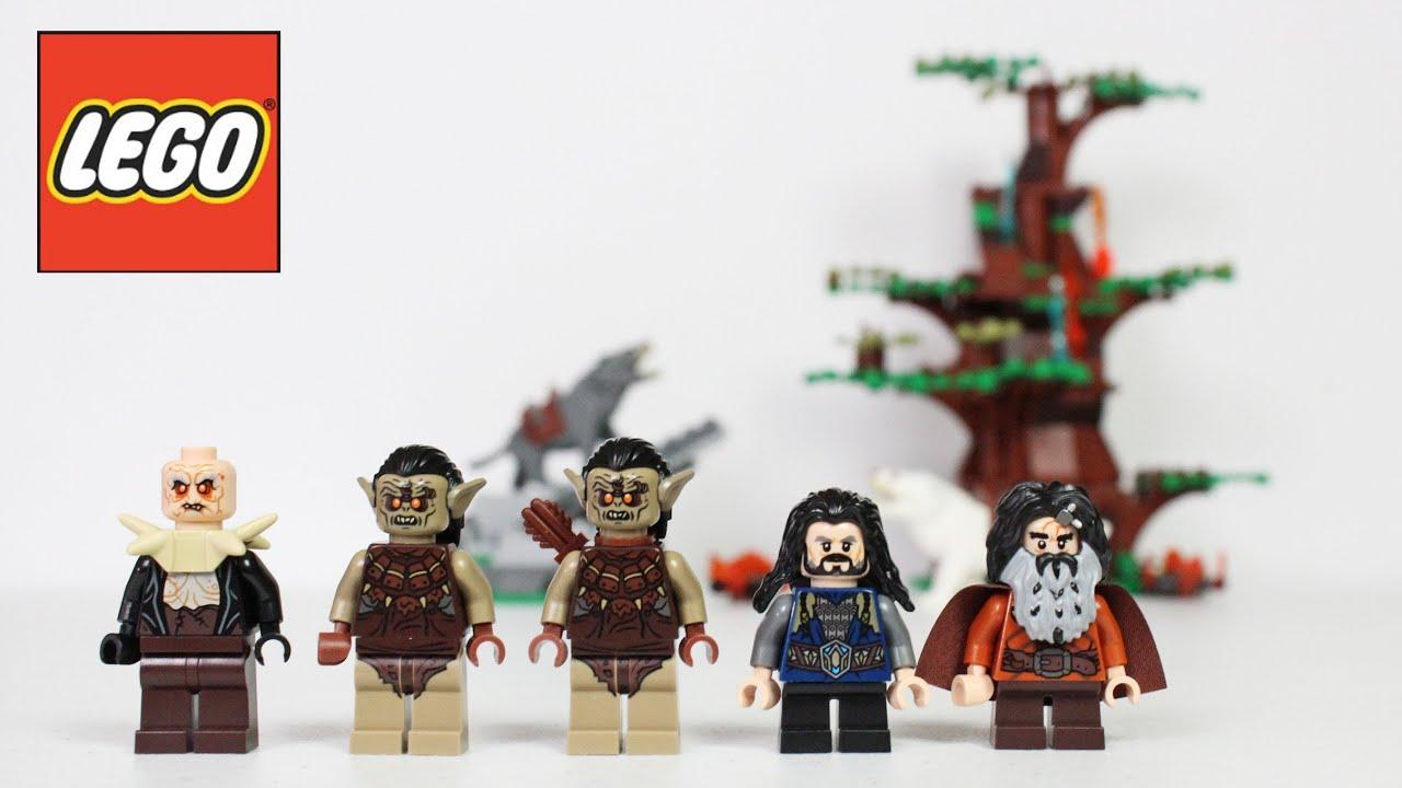 Bifur Dwarf Minifigure *NEW* LEGO Hobbit LOTR 79002 Attack of the Wargs