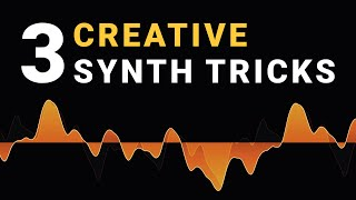 3 Creative Ways t๐ Use a Synth - Sound Design Tips