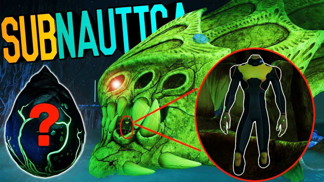 Subnautica - ANCIENT SKELETON REMAINS, LEVIATHAN EGG, LOST RIVER UPDATE,  PRECURSOR CACHE & MORE!