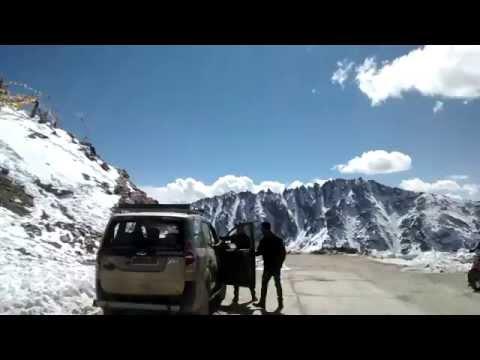 Khardungla Pass World highest motorable Road Leh Ladakh india @bhi$hek