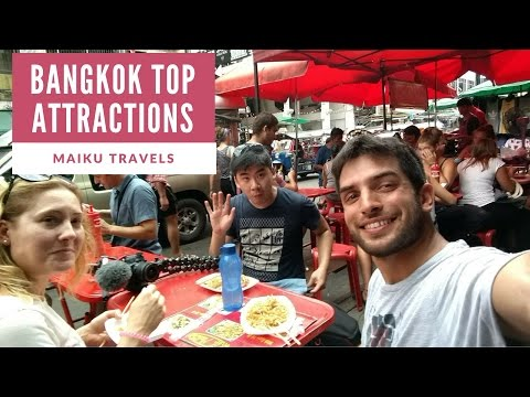 EXPLORING BANGKOK TOURISM ATTRACTIONS | THAILAND ADVENTURES
