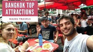 EXPLORING BANGKOK TOURISM ATTRACTIONS | THAILAND ADVENTURES thumbnail