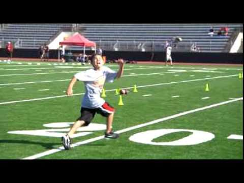 Anthony Munoz Football Camp 2010.mov