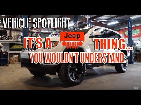 Spotlight - 2013 Jeep Grand Cherokee, leveled, 18x9 +/- 0 and 285's