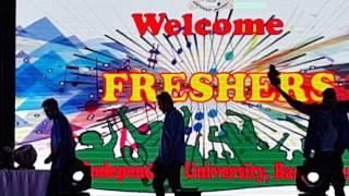 freshers day 2016 independent university bangladesh