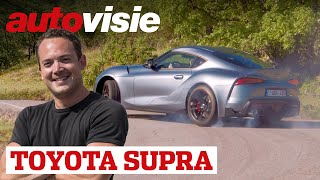 Toyota Supra (2019) - Test - Autovisie TV