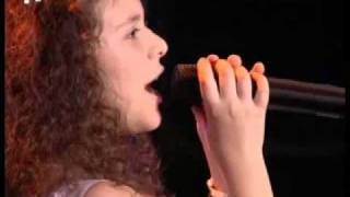 Mariam Venizelou 12 years old