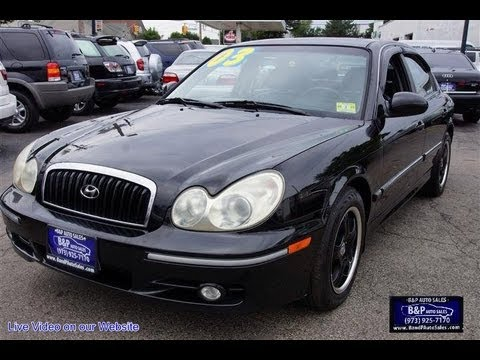 2003 hyundai sonata v6 gls sedan youtube. Black Bedroom Furniture Sets. Home Design Ideas