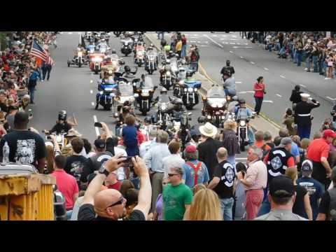 Rolling Thunder 2017 - POW MIA - Washington D.C.