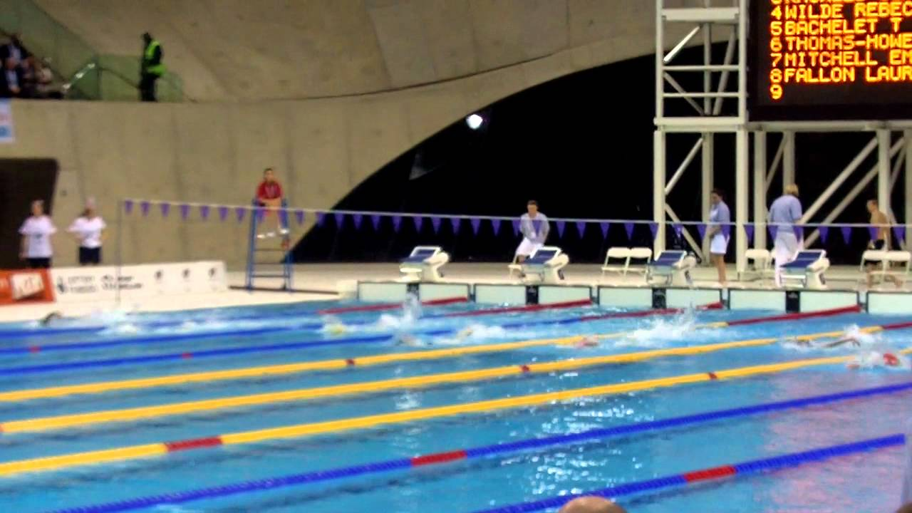 Sainsburys 2012 School Games At Olympic Park Swimming Girls 100m Freestyle