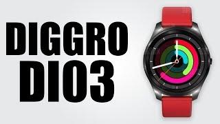 Diggro DI03 - IP67 waterproof / Stylish strap / Multiple watchface / Ultra-thin body