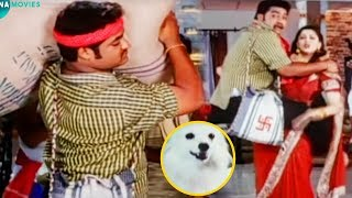 Jr NTR And Nagma Blockbuster Movie Interesting Scene   Telugu Movies   Mana Movies