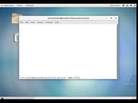 Glassfish Server On Linux Server