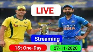 Live : India vs Australia 1st ODI Live Match | | Live Scores & Hindi Commentary | AUSvsIND