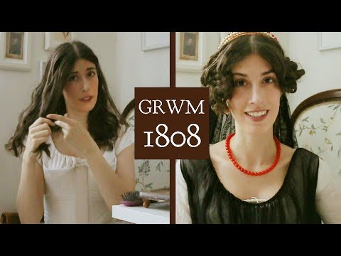 A Historical Get Ready With Me - 1808 Regency Edition