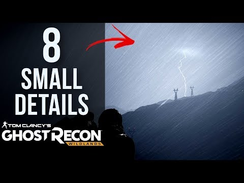 8 SMALL Details in Ghost Recon: Wildlands
